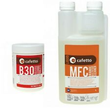 Cafetto Milk Frother Cleaner & B30 Super Automatic Espresso Brew Unit Cleaner