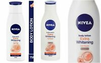 NIVEA-Extra-Whitening-Cell Repair Body-Lotion & UV Protect SPF15 Free Shipping