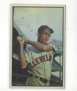 1953 Bowman Color #86 Harry Simpson Indians - VG