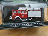 Iveco LF 16-TS Magirus 90-16 Vigili del Fuoco Scala 1:72 Die Cast - Atlas