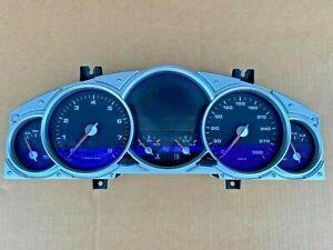 Porsche Cayenne Turbo S 2005 Interior Dash Instrument Cluster Gauges 6033EDO098