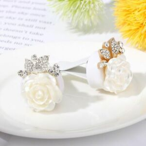Vent Air Decoration Cute Car Clips Rose Car Air Vent Clip Aromatherapy Bling