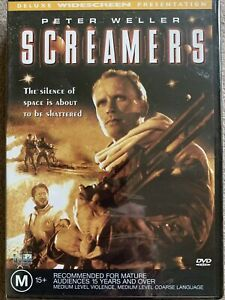 DVD: Screamers - The Silence Is Bout To Be Shattered (Limited Release US Import)