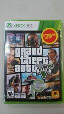 Grand Theft Auto Five, Xbox 360 Brand New