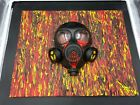 Original Painting Art By Aaron Goodwin 1/1 Canvas Size 16x20 Has Mask