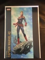 Mighty Captain Marvel issue #3 Joe Jusko Variant NM Marvel Now