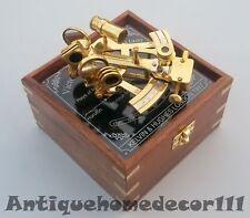 Antique Maritime Sextant Nautical Marine Astrolabe Instrument Best Replica Gift