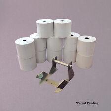 Verifone Vx520 Paper Adapter + 12 - 230ft Paper Rolls! *Video*