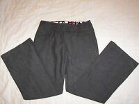 Women's Maurices Stretch Low Rise Pants - Size 3/4