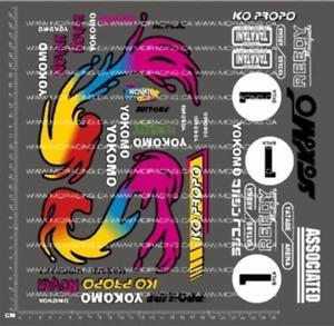 1/10TH YOKOMO - WORKS / WORLDS YZ-10 - MASAMI HIROSAKA DECALS V2