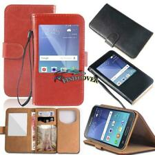 Flip View Window Cover Stand Leather Case For Samsung Galaxy Note 1/2/3/4/5/7