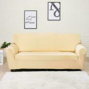 Sofa Cover Elastic for Living Room Spandex Corner Couch Cover Strech Slipcover