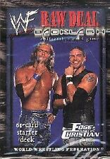 WWE: Backlash Edge and Christian Starter Deck [Factory Sealed] Raw Deal Wrestlin