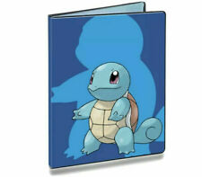 Squirtle Pokemon Ultra Pro Album Folder 9 Pocket Portfolio Holds 180 Cards