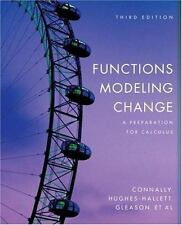 Functions Modeling Change : A Preparation for Calculus by Eric Connally...