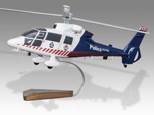 Aerospatiale SA-365 Dauphin 2 Victoria Police Air Wing Desktop Helicopter Model
