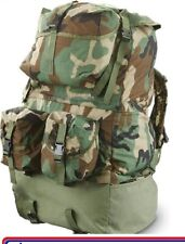 Us Army Military Woodland Camo Crewman Rucksack Backpack Surplus
