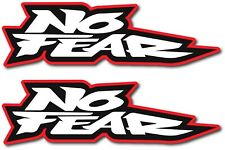 2X NO FEAR DECAL STICKER 3M USA MADE TRUCK VEHICLE CAR LOGO WALL WINDOW