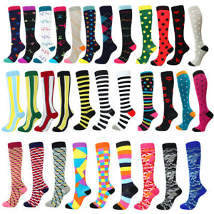 Medical Compression Socks Nursing Travel Sports Tights Foot Pain Relief Stocking