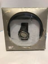 Nike Triax c8 Men's Watch Digital Black&Silver Heart Rate Monitor NEW