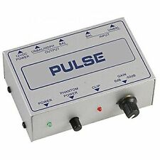 Pulse Microphone Pre Amplifier MPRE Studio Recording Sound Mixer