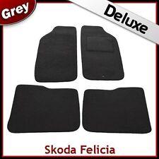 Skoda Felicia 1994 1995 1996 1997...2001 Tailored LUXURY 1300g Car Mats GREY