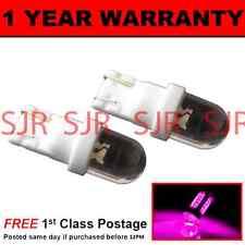 w5w T10 501 Xenon pink DOME LED Standlicht Standlichtbirnen X2 hell sl100106