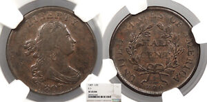 1807 Draped Bust 1/2 Cent C-1 NGC EF-45