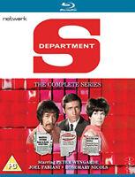 Department S: The Complete Series Blu-Ray (2017) Peter Wyngarde cert PG 6 discs