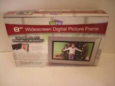 "NEW GiiNii 8"" Widescreen Digital Photo Picture SLIM FLAT PANEL DESIGN Frame NIB"