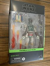 Star Wars The Black Series Boba Fett ROTJ Deluxe Return Of The Jedi In Hand!