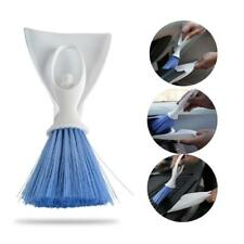 Car Air Vent Mini Brush with Detachable Dustpan Keyboard Vents Cleaning Tool cb
