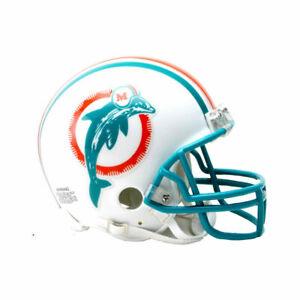 Miami Dolphins 1980-1996 80-96 Throwback Riddell VSR4 Mini Helmet New in box