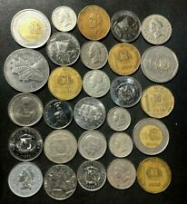 Old DOMINICAN REPUBLIC Coin Lot - 1959-Present - 28 Excellent Coins - Lot #D3