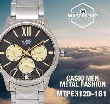 Casio Men's Standard Analog Watch MTPE312D-1B1 MTP-E312D-1B1