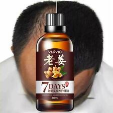 Hair Regrow 7 Day Ginger Germinal Serum Essence Oil Loss Growth Treatement O0K7