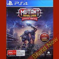 MUTANT FOOTBALL LEAGUE - Dynasty Edition - PlayStation 4 PS4 ~18+ Brand New