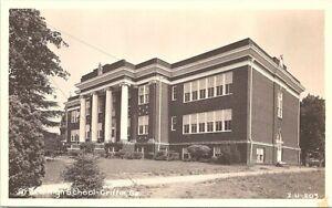 RPPC Griffin GA View of High School Building 1949