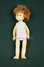"Vintage Soviet Ussr Russian Big Hard Plastic Doll Blue Sleeping Eyes 1970 20"""