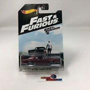'69 Dodge Charger Daytona * Hot Wheels Fast & Furious 6 * ZD11
