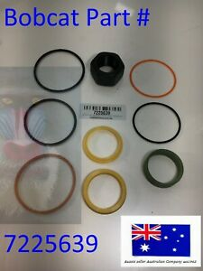 Hydraulic LIFT CYLINDER Seal kit fits Bobcat 7225639 A770 S650 S750 S770