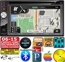 2006-2015 GPS CHEVY GMC SILVERADO SIERRA SAVANA Car Stereo OPTIONAL SIRIUSXM