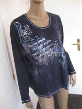 Bonita traumhaftes Shirt XL +  46  dunkelblau langarm