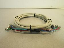11' RU Coaxial Component Video Cable E119932, 30V, VW-1, 009125 Rev. 1, RP RGBS
