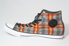 103d2efb251f Converse Mens CT All Star High Top Woolrich Wool Plaid Sneakers New 13 Grey  Shoe