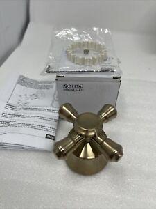 Delta Faucet H795CZ Cassidy Single Cross Bath Handle Kit, Champagne Bronze