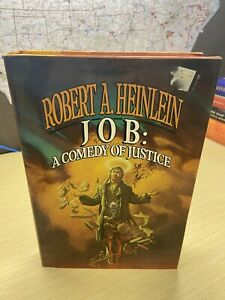 Job: A Comedy of Justice by Robert A. Heinlein HC DJ First Edition 1984