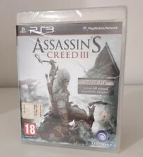 ASSASSIN'S CREED 3 III PS3 - NUOVO SIGILLATO PLAYSTATION 3 - PAL ITA ITALIANO