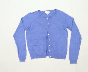 Next Womens Size 10 Blue Cardigan (Regular)