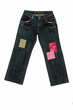 Guess Urban Folk Patchs Multicolore Jeans filles 12 ans Funky stilish